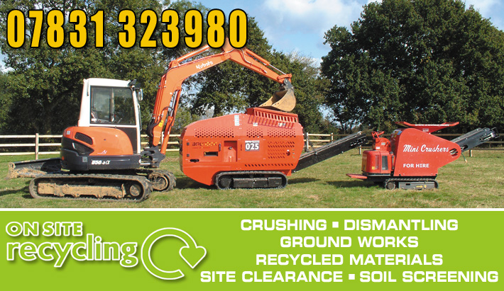 building material recycling Dorset