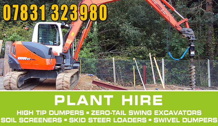 plant hire equipment Dorset